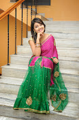 Priyanka Gorgeous Photos in Saree-thumbnail-10