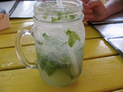 Mojito at Smokey Joe's, Aruba