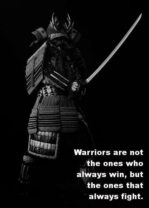 We always fight...
