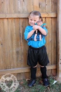Rag Doll Soccer Player