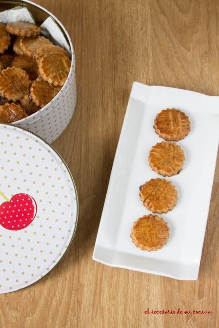 galletas de miel y jengibre