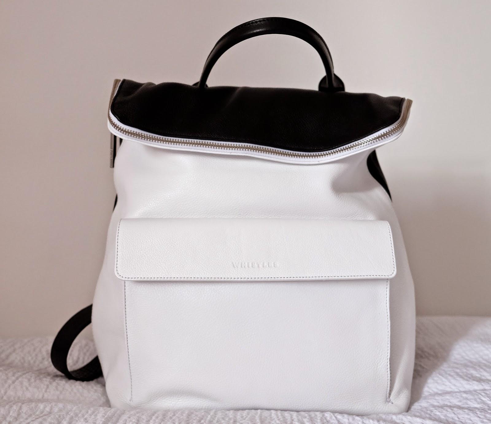 Whistles Verity backpack angeprojecteverest.blogspot.co.uk