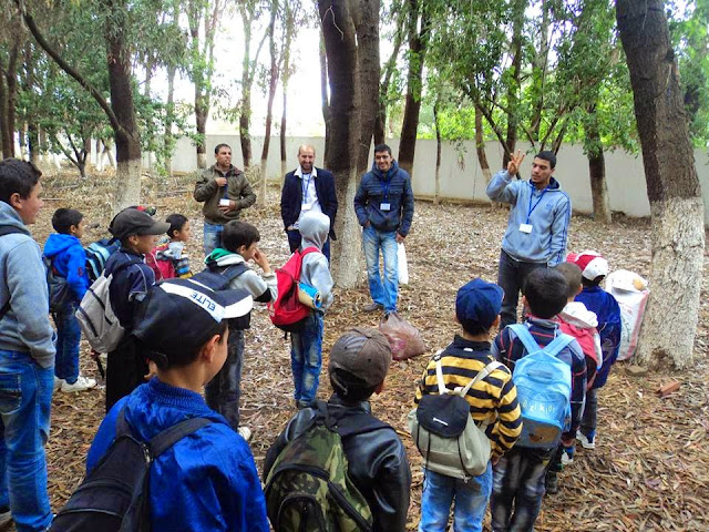 رحلة مدرسية لفائدة تلاميذ فرعية تغاسروت تافوغالت
