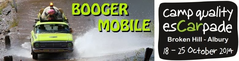 Booger Mobile - 2014 Camp Quality esCarpade!