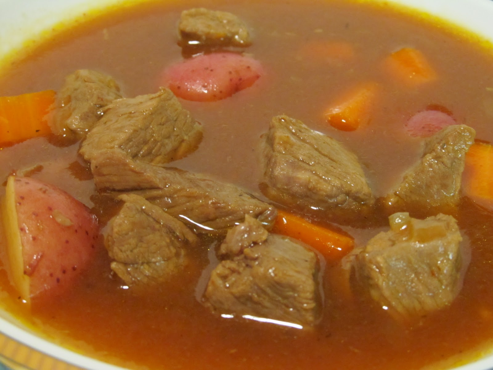 Jenn's Food Journey: Beef Stew with Beer and Paprika