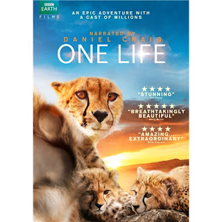 One Life Narrated by Daniel Craig DVD Cover