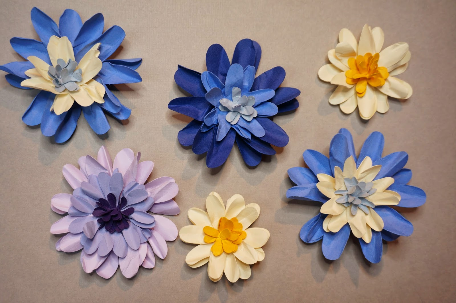 Cats on the homestead paper flowers for cards scrapbooks decor look what i made these paper flowers are so simple and pretty izmirmasajfo