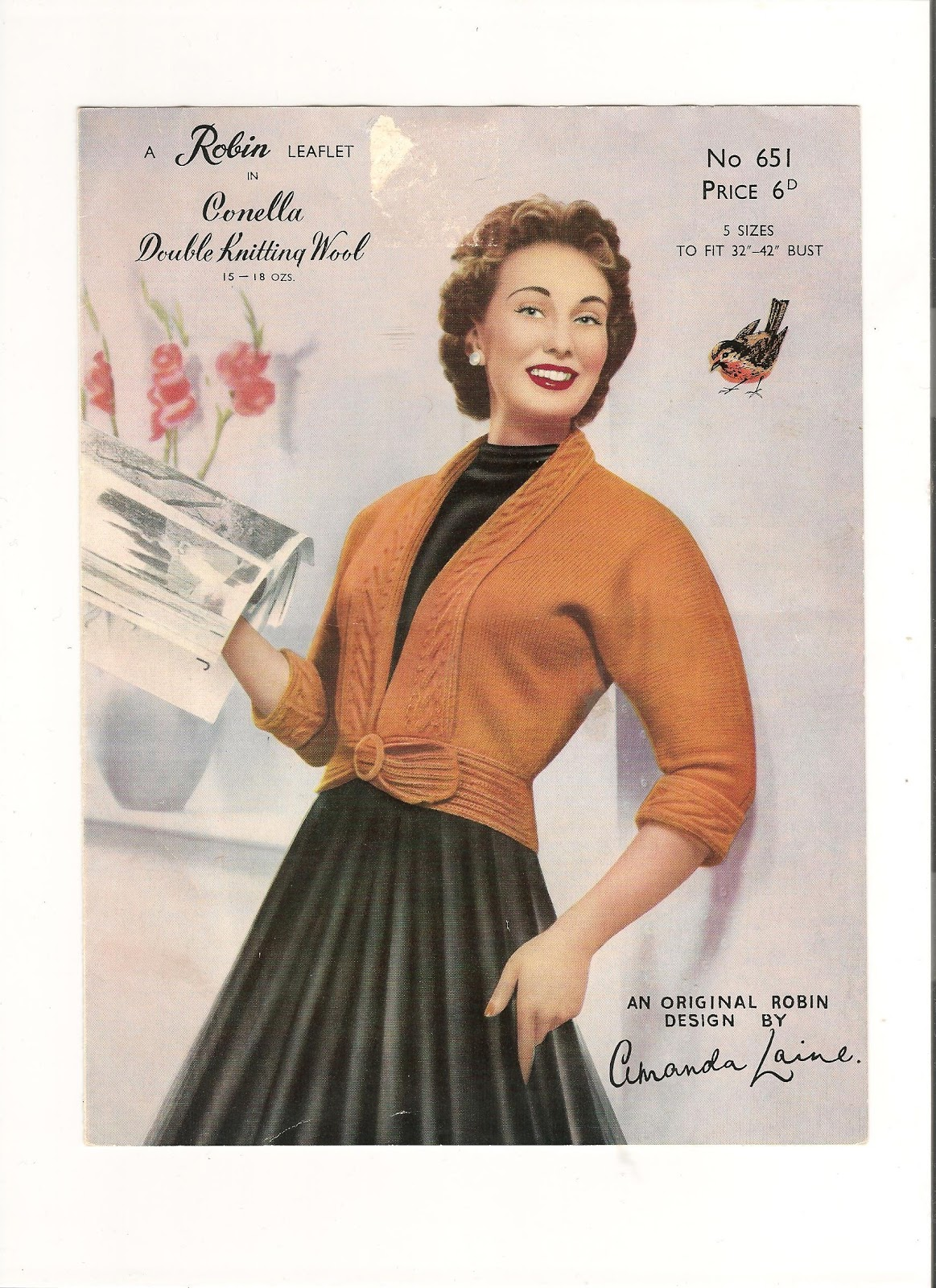 Free Vintage Knitting Patterns 1940s : Debrafide: Vintage Knitting Patterns styles from the 1940s to 1950s
