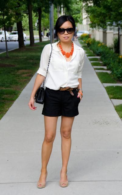 Dressy shorts, Chanel, Zara, J.Crew