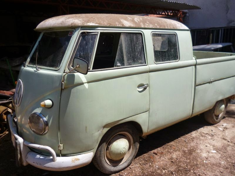 Volkswagen Double Cab 1962 Vw Bus