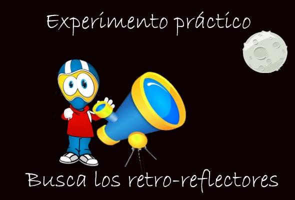 Experimento práctico sobre retro-reflectores