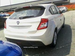 Preve Hatchback Model Terbaru Proton