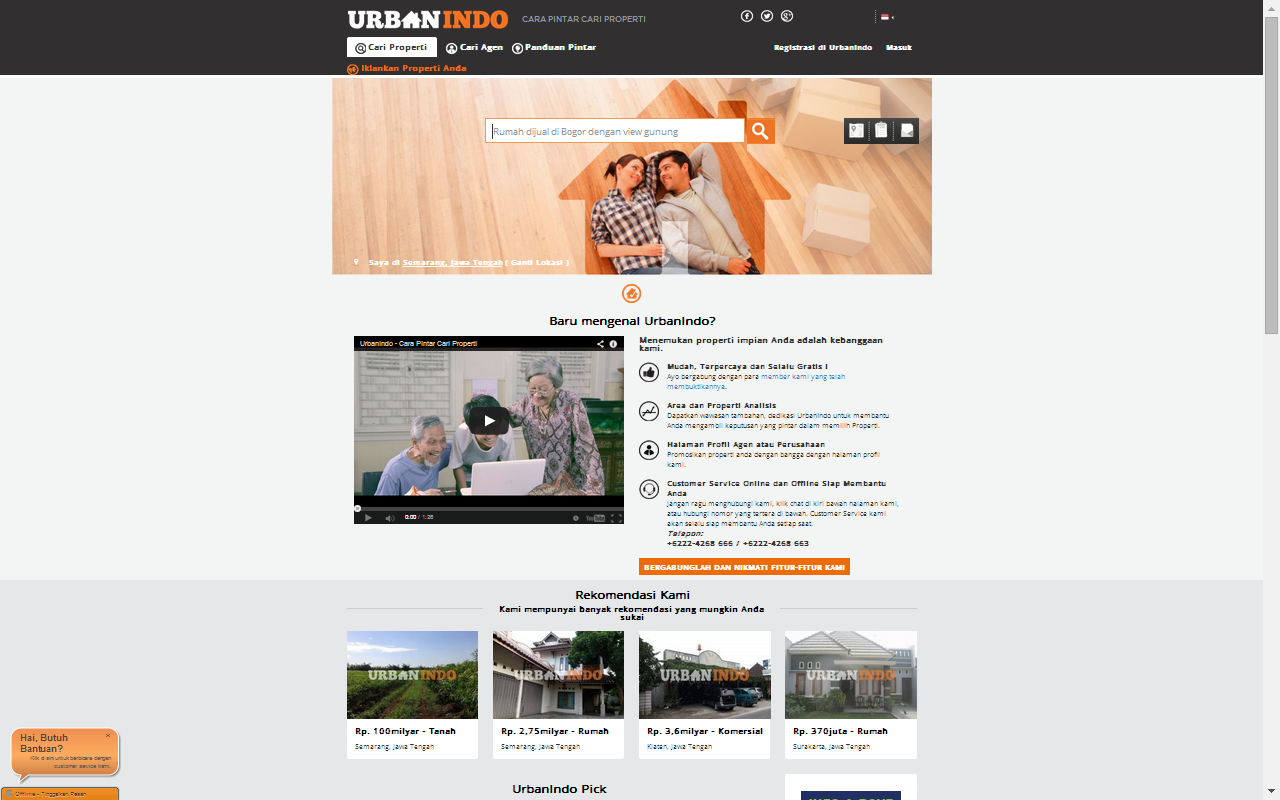Property Website Built by Yii Framework
