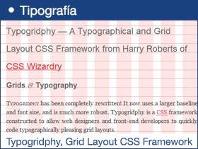 Typogridphy, Grid Layout CSS Framework