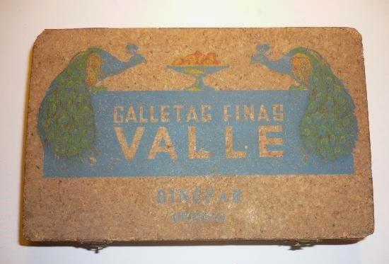 Galletas de Binéfar: Galletas Valle