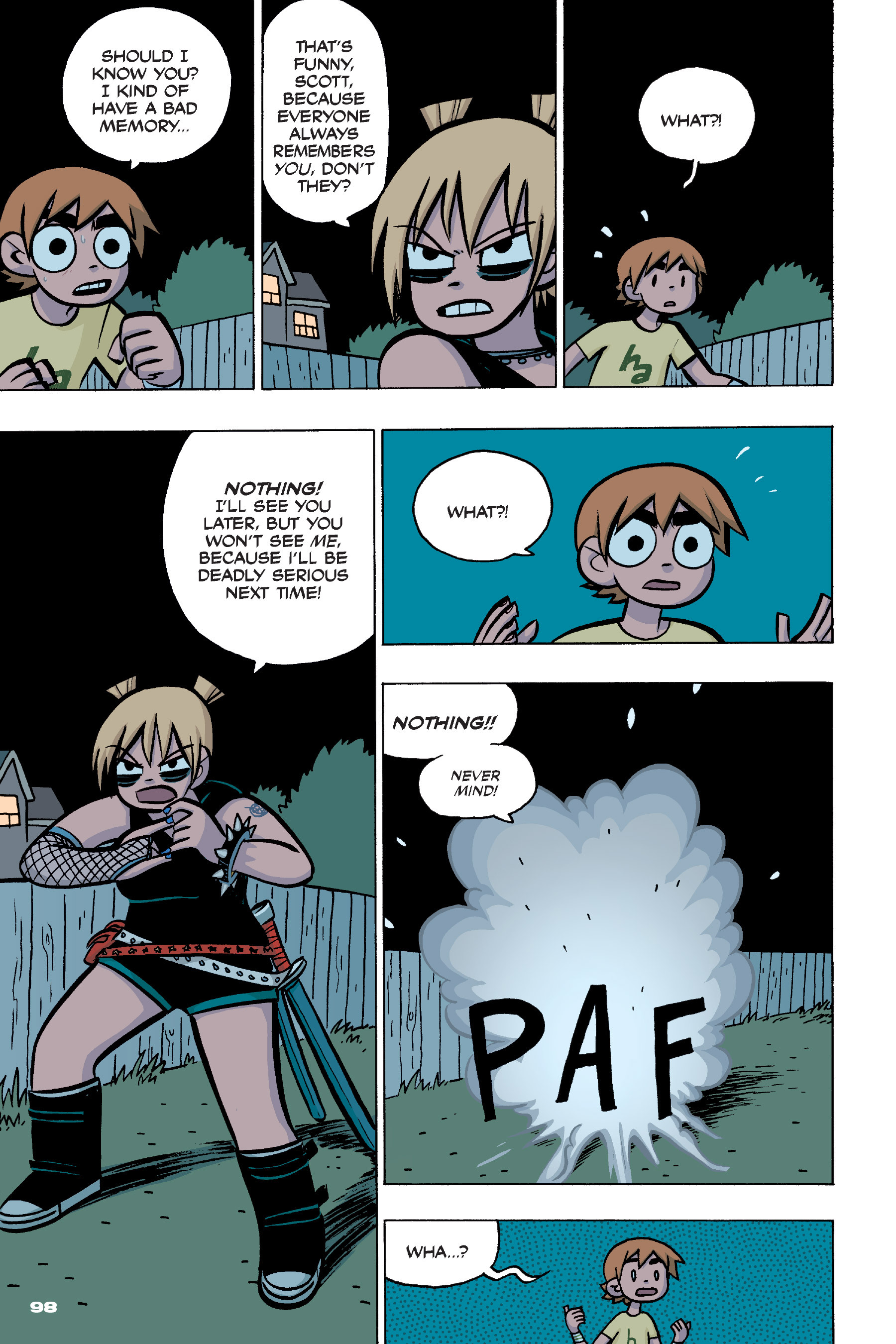 Read online Scott Pilgrim comic -  Issue #4 - 96