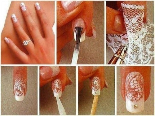 Crochet nail art designs