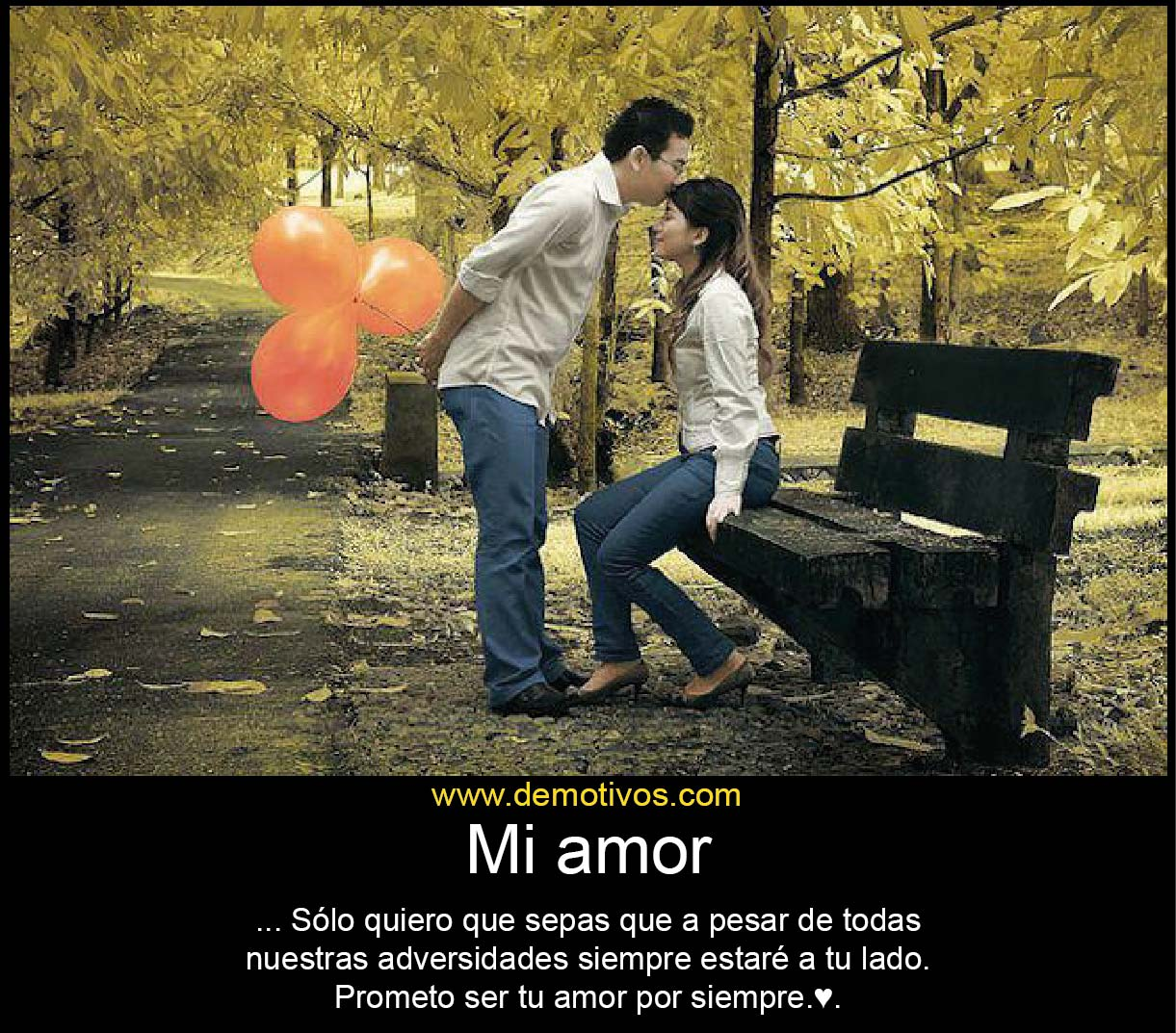 Siempre estaré contigo | Te Amo Web - Imagenes de amor