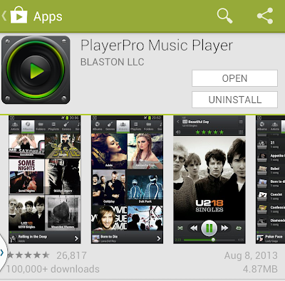 JUST LIFE STYLE: Top 5 Android Music Player 2013 (Paid Version) Free