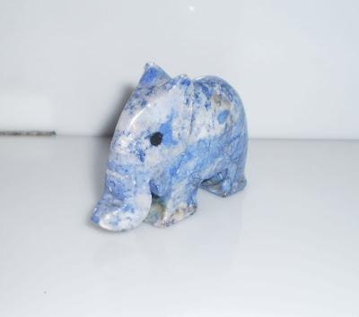 Kék kő elefánt