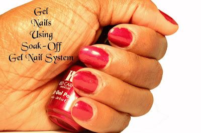 Soak Off UV Gel Nail System