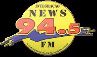ouvir a Rádio Integração News FM 94,5 Morrinhos