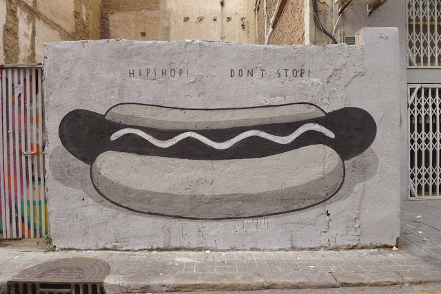 """Fast Food Is Not A Crime"" A New Series Of Pieces by Spanish Artist Escif in Valencia, Spain. 1"