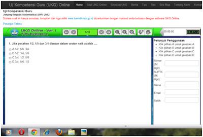 contoh soal ukg online 2012 contoh soal tes ukg 2012