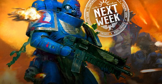 Updated Space Marine Releases: