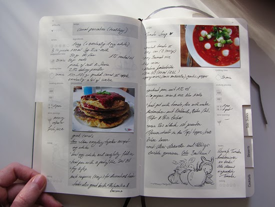 Into a fairytale moleskine passion journal food at the moment im still trying to gather everything i made over the last couples of years cooking on a daily base means lots of recipes forumfinder Gallery
