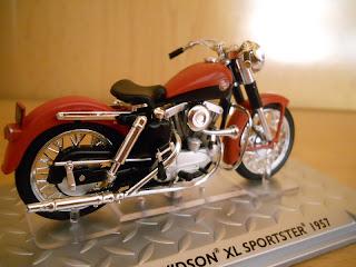 maquetas en miniaturas de motos harley davidson