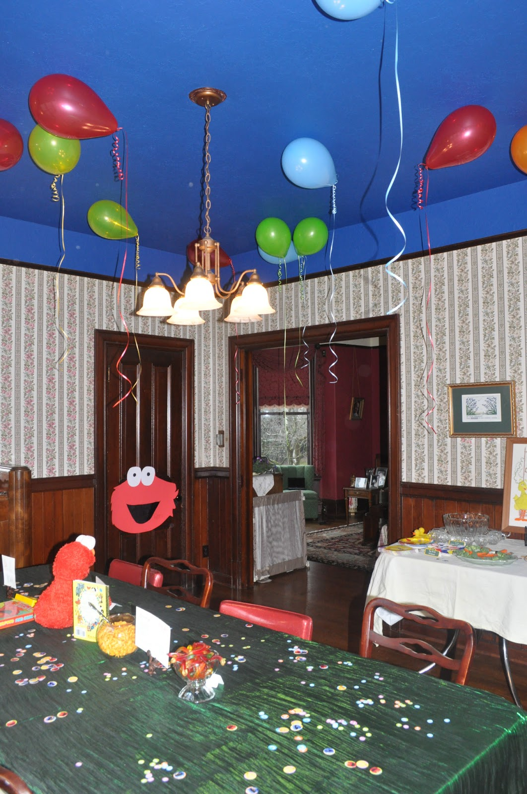 Sesame Street Bedroom Decorations Stream Of Consciousness Sesame Street 2nd Birthday Party