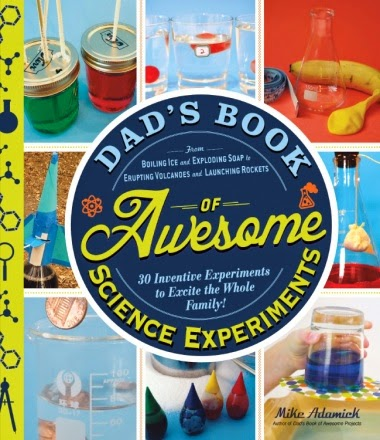 Dad's Book of Awesome Science Experiments #affiliate