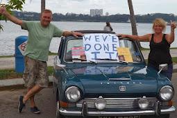 Bermodal Mobil Seharga Rp6 Juta, Pasangan Ini Keliling Dunia