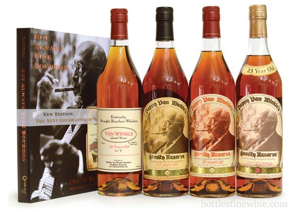 Pappy Van Winkle Bourbon Whiskey