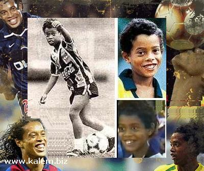 Ronaldinho Family foot ball: ronaldinho