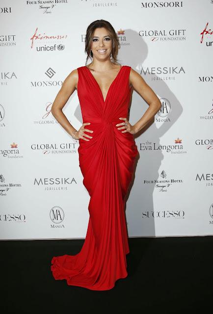 Actress @ Eva Longoria Attends Global Gift Gala Photocall
