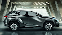 Lexus LF-NX Crossover Concept side