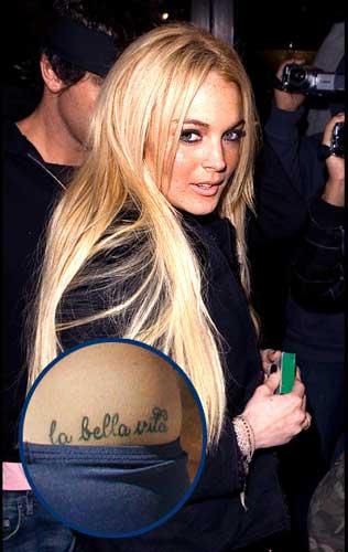 La vita e bella tattoo for The bella vita