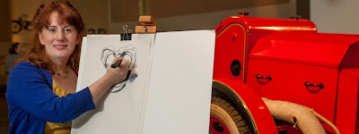 The Big Draw at IWMN