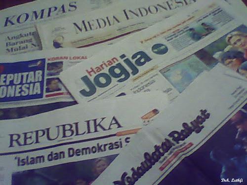 Sejarah Koran dan Surat Kabar, Medi Massa