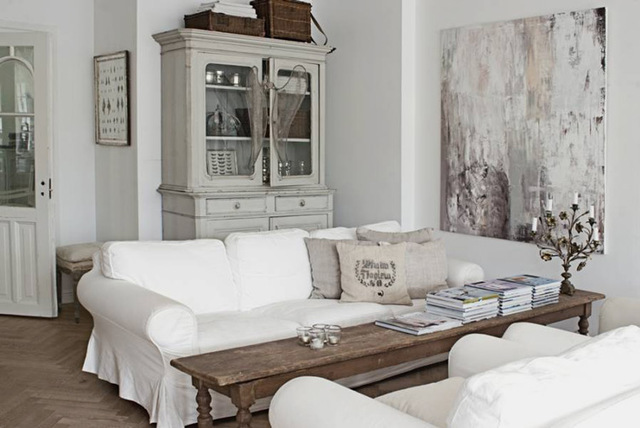 Cheap Home Decors: Shabby chic living rooms (2)
