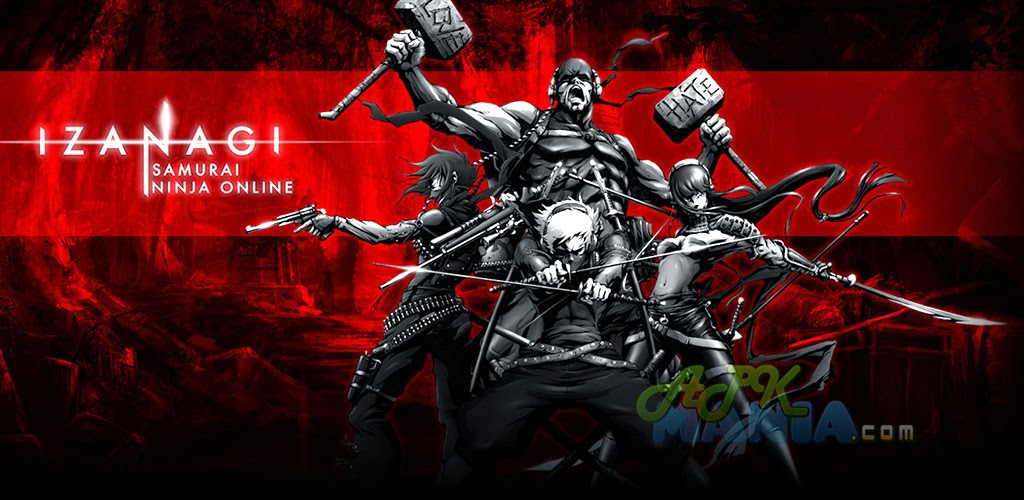 Izanagi Samurai Ninja Online v1.2.1 APK+DATA