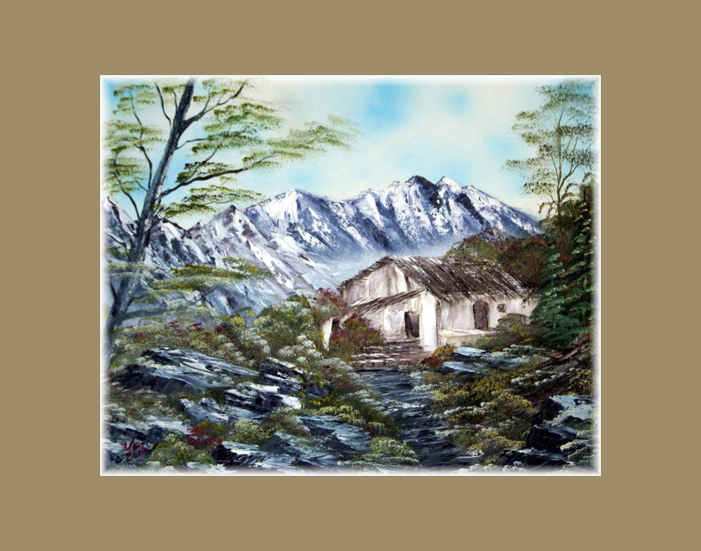 Home in the Mountains-print
