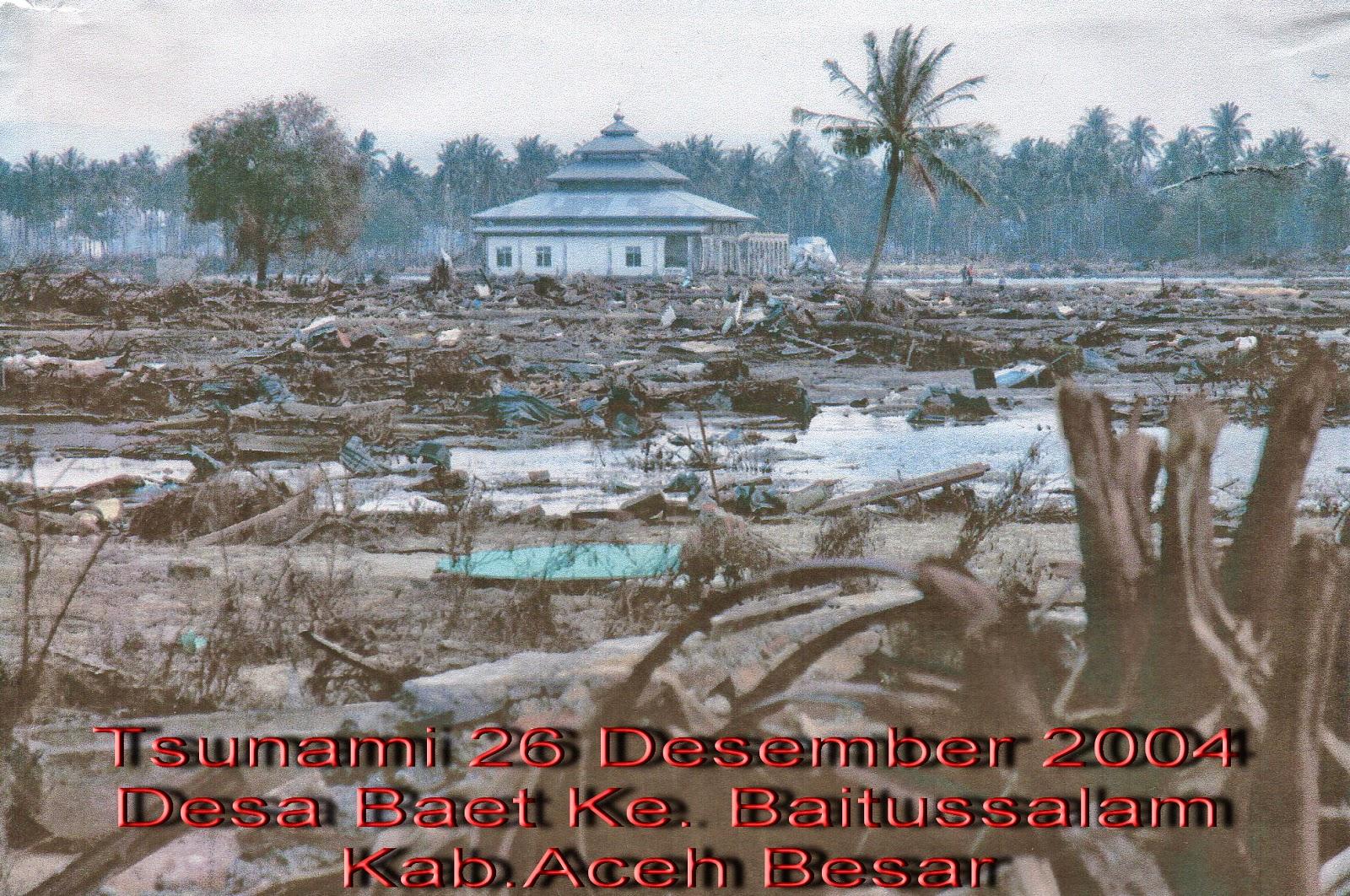 Tsunami 26 Desember 2004 Desa Baet