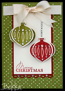 Lovely Contempo Christmas Cards by Bekka www.feeling-crafty.co.uk