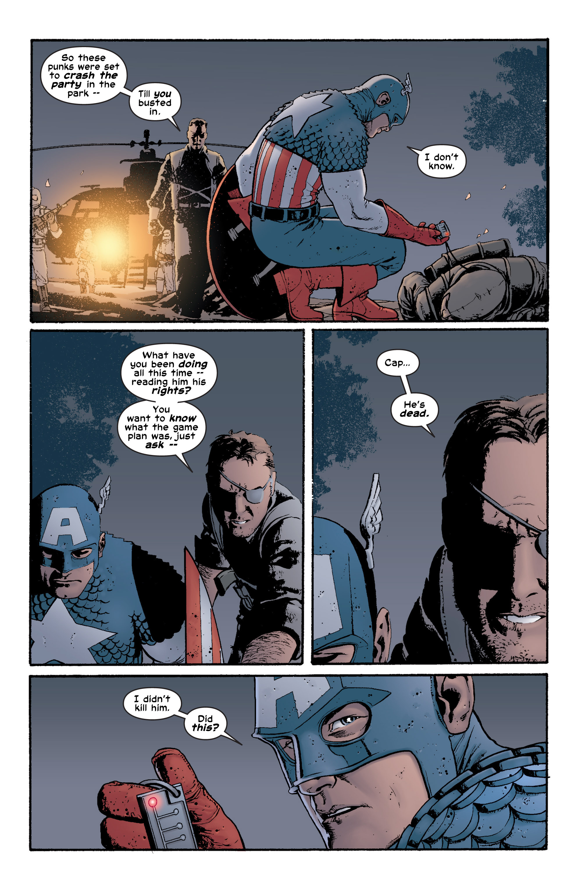Captain America (2002) Issue #5 #6 - English 14