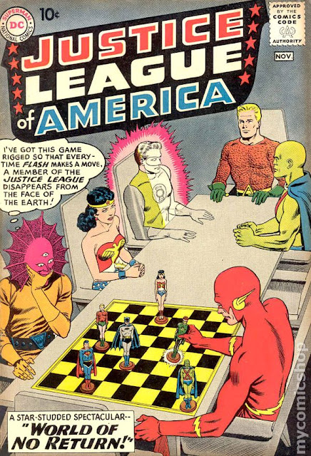 Silver Age DC Comics Justice League of America #1 For Sale. Click here to buy this key issue comic book!