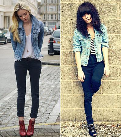 image En pantalones cortos y pantimedias