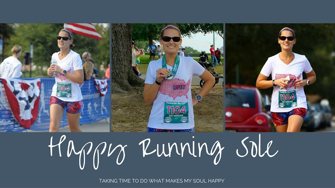 Happy Running Sole